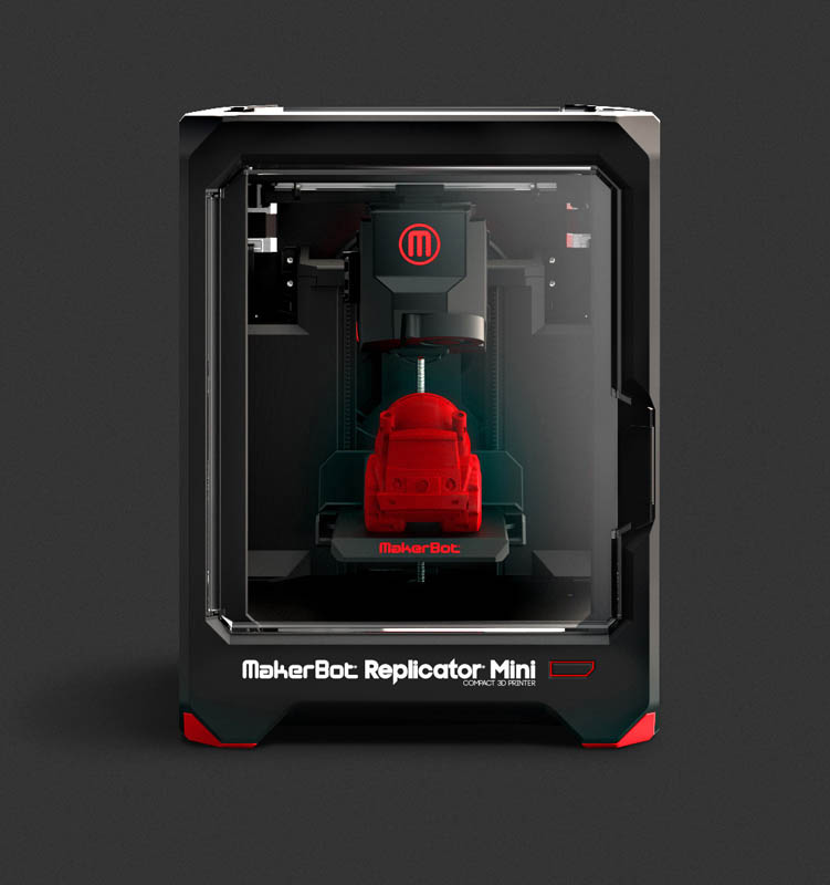 Makerbot Replicator Mini For Sale - Small Mini 3D Printer